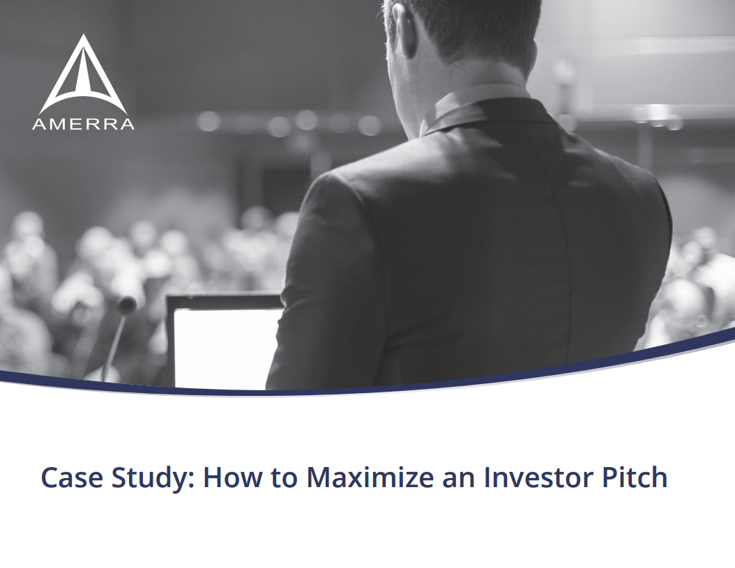 Case Study: How to Maximize an Investor Pitch