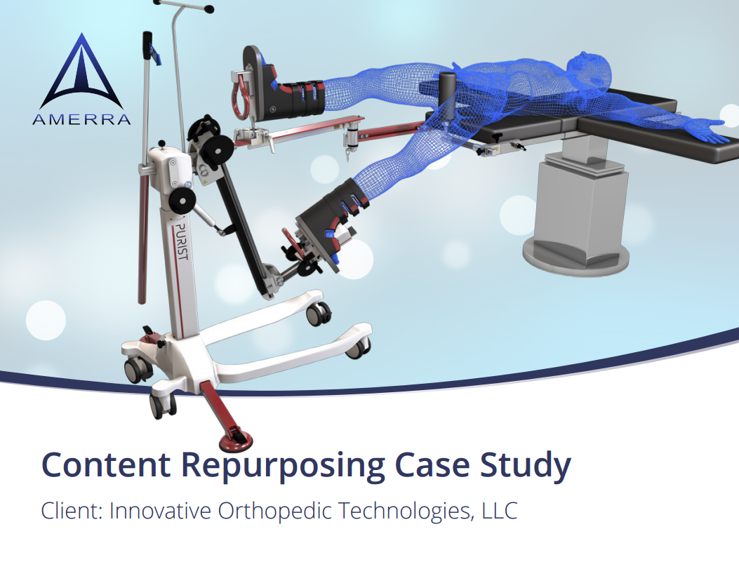 Content Repurposing Case Study: Innovative Orthopedic Technologies, LLC